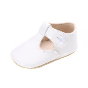 Baby Girls Shoes, Newborn Boy Girl Baby PU Leather Soft Sole Non-slip Toddler Shoes