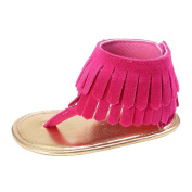 Baby Girls Shoes, Boy Girl Baby Tassels Sandals Fringe Soft Soled Non-Slip Footwear Soft Shoes