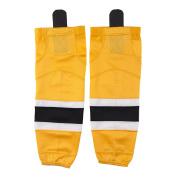 Hockey Socks, COLDINDOOR Youth Stripe Dry Fit Mesh Practise Ice Hockey Socks