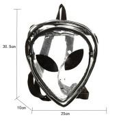 LABANCA Laser Alien Type Triangle Casual Backpack School Satchel