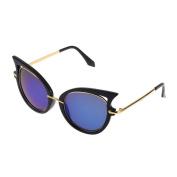 ECYC® Retro Metal Frame Cat Eye Sunglasses for Women oculos de grau femininos