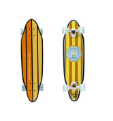 Kryptonics 80cm Cutaway Cruiser Complete Skateboard - Anchors Graphic