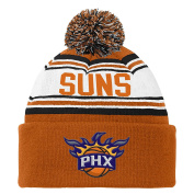 NBA Youth Boys 8-20 Cuffed Knit Hat with Pom