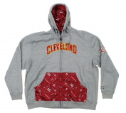 Cleveland Cavaliers NBA Men's Signature Basics Full Zip Hoodie, Grey