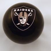 Oakland Raiders BLACK Billiard Pool Cue Ball 8
