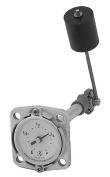 Rochester Gauge 6580 Series Flat Dial Vertical Fuel or Oil Level Gauge 15cm - 90cm