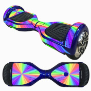 17cm Skin for Self Balancing Scooter Stickers Two-wheel Smart Protective Cover Case Stickers for Motorised Longboard Drifting Boards