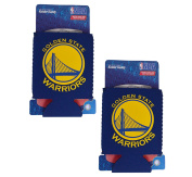 NBA Fan Shop Authentic 2-Pack Insulated 350ml Cold Can Cooler/Holder. Show Team Pride At Home, Tailgating or at the Game. Great for Fans