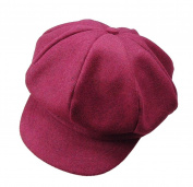 HugeStore Baby Toddlers Newsboy Cap Berets Beanie Hat Cap Peaked Hat Cap for Boys Girls