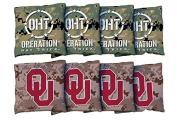 NCAA Cornell Big Red Unisex 827723Cornhole Bag Set (Corn Filled), Multicolor, One Size