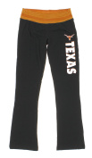 Texas Longhorns NCAA Ladies Womens Aerial Knit Pyjama Lounge Pants, Black