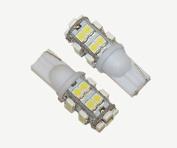 T10 20 SMD LED White (pair)