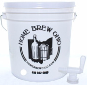 Home Brew Ohio 7.6l Party Bucket Dispenser, White