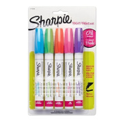 Sharpie Oil-Based Paint Markers, Medium Point, Assorted Fashion Colours (1770459)