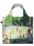 "LOQI MUSEUM George Seurat ""A Sunday on the Island"" Shopping Bag"