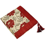 """Riva Paoletti """"Mayflower"""" Throws, Red, 145 x 180 cm"""