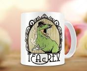 Hiros®Tea Rex Mug,Retro themed,Funny Dynasoure,Ceramic Mug,Unique Mug,Novelty Mug,Coffee Mug.