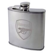 Arsenal F.C Chrome Hipflask