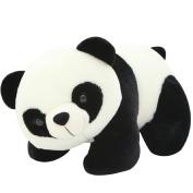 Mxixi Cute Plush Stuffed Soft Panda Zoo Animals Cloth Panda Pillow Toy Children Doll Birthday Gift Bolster