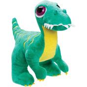 Suki Gifts Velociraptor Stuffed Toy, Green, Medium