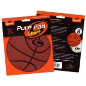 Genesis Pure Pad Sport Bowling Ball Wipe Pad- Basketball Theme