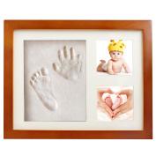 Baby Handprint Kit Footprint Frame Gift Keepsake Baby Hand and Footprint Kits Baby Print Clay
