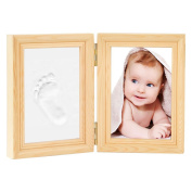 Newlemo Baby Handprint Kit Footprint Frame Gift Keepsake Baby Hand and Footprint Kits Baby Print Clay