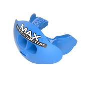 Shock Doctor Max AirFlow Lipguard - #1 Selling Mouthguard, Youth & Adult, tether included