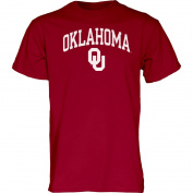 Oklahoma Sooners Adult Arch Logo T-Shirt - Cardinal ,