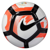 Nike Pitch Ciento White/TotalCrimson/Black Ball