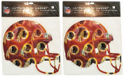 NFL Large Helmet 3D Magnet - 23cm x 24cm - Holographic NFL Magnet Perfect for Vehicles, Home, School, or at the Office! Represent Your Favourite Team In Style!