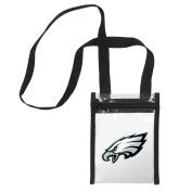 NFL Womens Clear Crossbody Tote Bag
