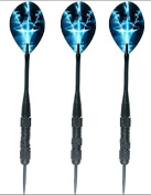 3 Pcs 21 Gramme Stainless Steel Darts Steel Tipped With Aluminium Shafts + Flights