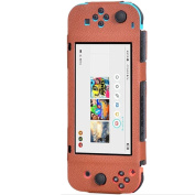 Cover for Nintendo,ABCsell New Litchi PU Leather Anti-slip Cover Case For Nintendo Switch Joy-Con Controller