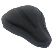 CHILDHOOD Breathable Children Bicycle Gel Seat Cover Case Black
