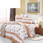 cotton twill duvet cover/Single and simple quilt cover/Single cover/two-cotton cover-M 180*220cm