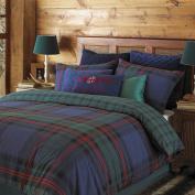 Riva Home Ayrshire Duvet Sets, Super King, Blue