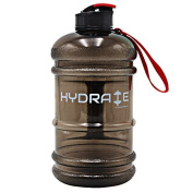 NEW RELEASE High Quality 2.2 Litre Water Bottle - Now With Easy Drink Cap, Durable & Extra Strong - BPA Free - Ideal for