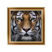 Logres Tiger DIY 5D Diamond Painting Embroidery Cross Stitch Art Craft Home Room Decor
