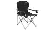 Outwell Catamarca Arm XL Camping Chair - Black/Silver, 90 x 62 x 96 cm