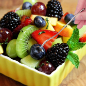 Honbay Stainless Steel Tasting Appetiser Fork Dessert fork and Fruit Fork 8-Piece Set