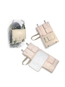Pasito a Pasito Changing Bag Beige/Pink