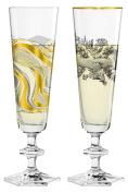 Champagne Double Champagne Flutes Set Ritzenhoff (Marlies Plank, Patricia Urquiola | 3520006 3520008 | Collection Spring 2017