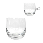 Ginsanity 2 x Traditional Rolling Whisky Glass / Tumbler 28cl