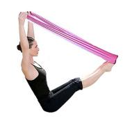 Baomabao Yoga Workout Elastic Band Aerobics Stretch Band Tensile Band