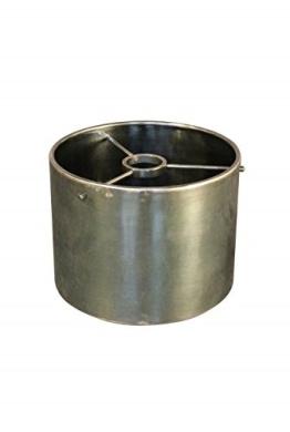 Glass Round 21 cm Patina Nickel