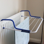 JVL Clothes Dyer Airer Indoor/Outdoor Foldable Radiator Stand Laundry Horse Rail