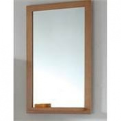 InFurniture WB-14168AM 60cm Mirror Red Oak/Walnut