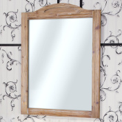 InFurniture WK1388 (mirror) Solid Recycled Fir Mirror (Rectangular) Solid Recycled Fir Mirror, Driftwood