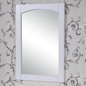InFurniture IN3300-31M-W 80cm Mirror 80cm , White